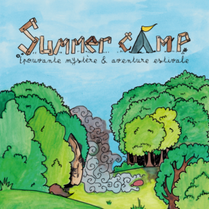 Extrait de couverture de Summer Camp