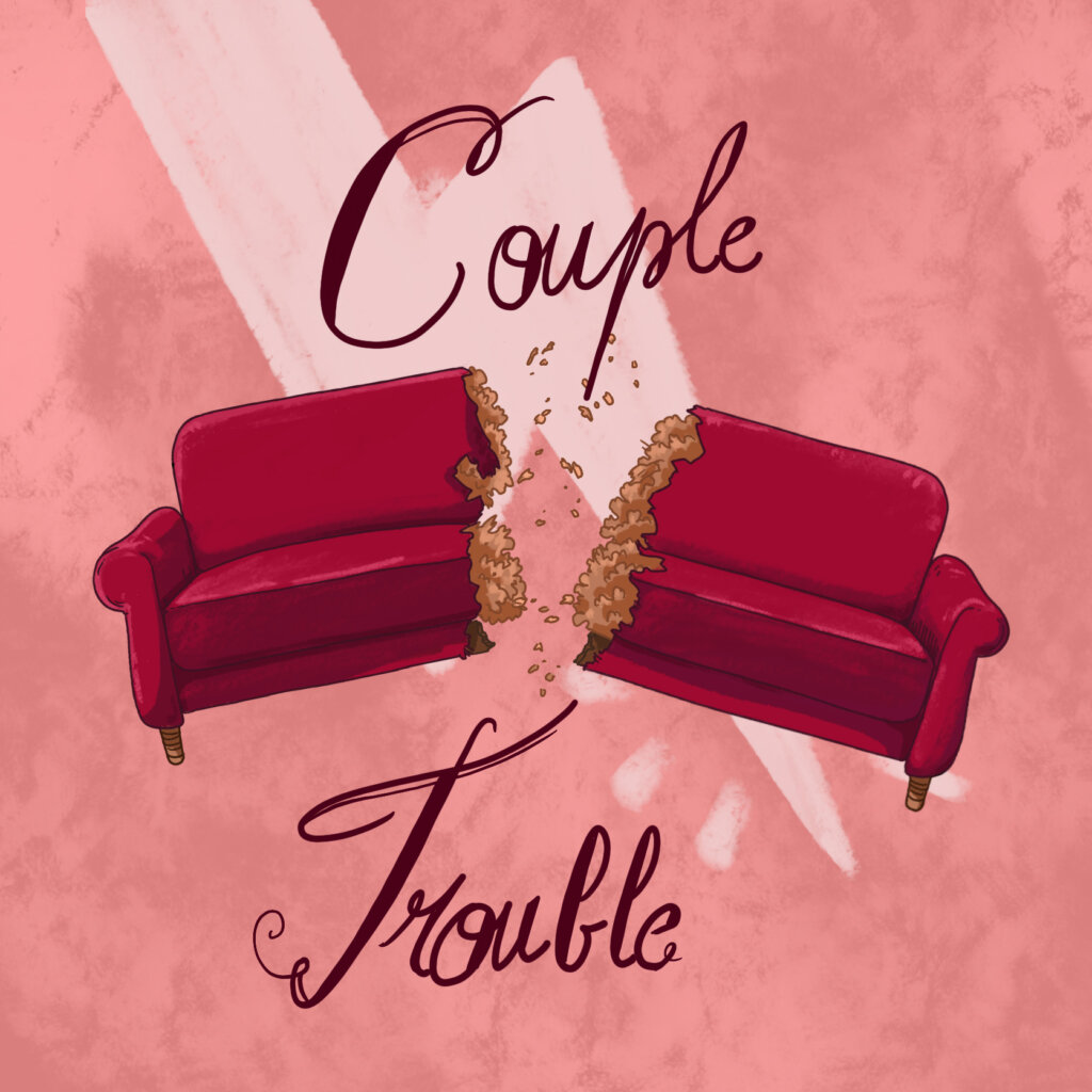 couverture de Couple Trouble